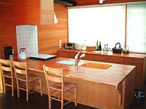 Y山荘:キッチン